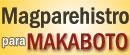 Magparehistro para Makaboto